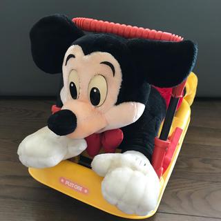 ディズニー(Disney)のディズニー ミッキー手押し車 赤ちゃん用品(手押し車/カタカタ)