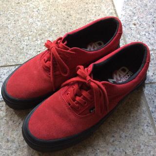 MAD FOOT(マッドフット)のMAD FOOT 赤 スニーカー レディースの靴/シューズ