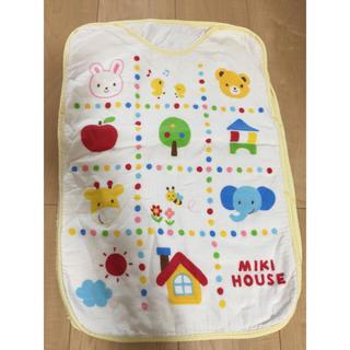 ミキハウス(mikihouse)のミキハウスの着る毛布 土日限定値下げ!!(毛布)