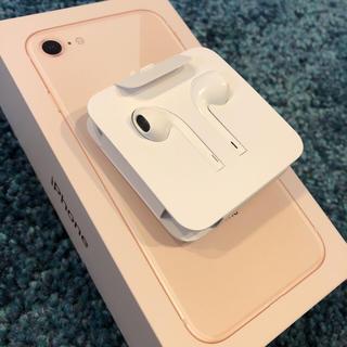 アイフォーン(iPhone)のiPhone8 イヤホン 正規品 4個(ヘッドフォン/イヤフォン)