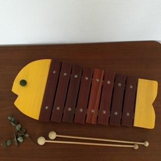 ボーネルンド(BorneLund)のみぃすけ様専用ページ【ボーネルンド】おさかなシロフォン 黄色(楽器のおもちゃ)