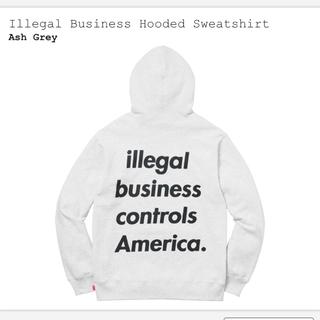 シュプリーム(Supreme)のillegal  business hooded sweatshirt(その他)