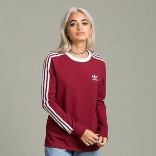 アディダス(adidas)の日本未発売 adidas 3本ライン Tシャツ(Tシャツ(長袖/七分))