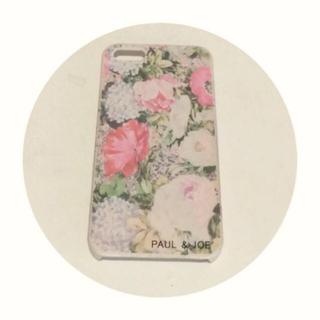 ポールアンドジョー(PAUL & JOE)のPAUL&JOE iPhoneケース(モバイルケース/カバー)