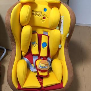 ディズニー(Disney)のチャイルドシート プーさん(自動車用チャイルドシート本体)