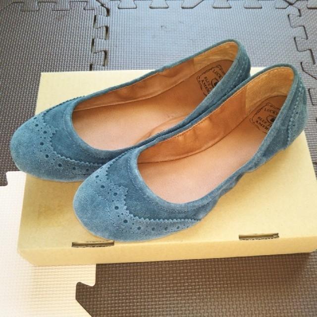 ローヒールパンプス25.5cm レディースの靴/シューズ(ハイヒール/パンプス)の商品写真