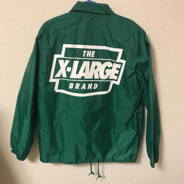 XLARGE(エクストララージ)の【値下げ中】xlarge   コーチジャケット  メンズのジャケット/アウター(ナイロンジャケット)の商品写真