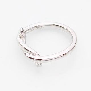 カルティエ(Cartier)の黒猫のキキ様 専用 カルティエ アントルラセ ホワイトゴールド リング 指輪(リング(指輪))