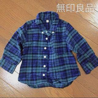 ムジルシリョウヒン(MUJI (無印良品))の無印良品 ネルシャツ(ブラウス)