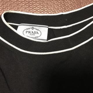 プラダ(PRADA)のkeiさん専用プラダ 薄手ニット ブラック (ニット/セーター)