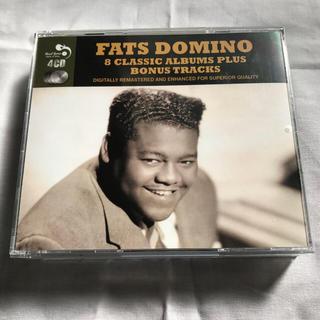 美品 Fats Domino 8 CLASSIC ALBUMS 4枚組(ブルース)