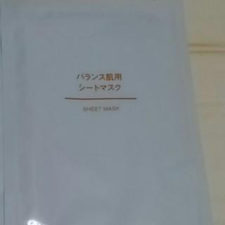 ムジルシリョウヒン(MUJI (無印良品))の無印良品 バランス肌用パックシート(パック / フェイスマスク)