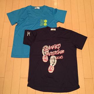 ミズノ(MIZUNO)のmizuno ミズノ 諏訪湖マラソン 長野マラソン Tシャツ2枚(その他)