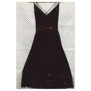 ビーシービージーマックスアズリア(BCBGMAXAZRIA)のフラジール☆着用一度のみ☆パーティードレス(その他ドレス)