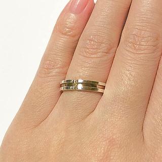ザキッス(THE KISS)の【販売期限3/17中まで】SV925ワンポイントダイヤモンドリング 11号(リング(指輪))