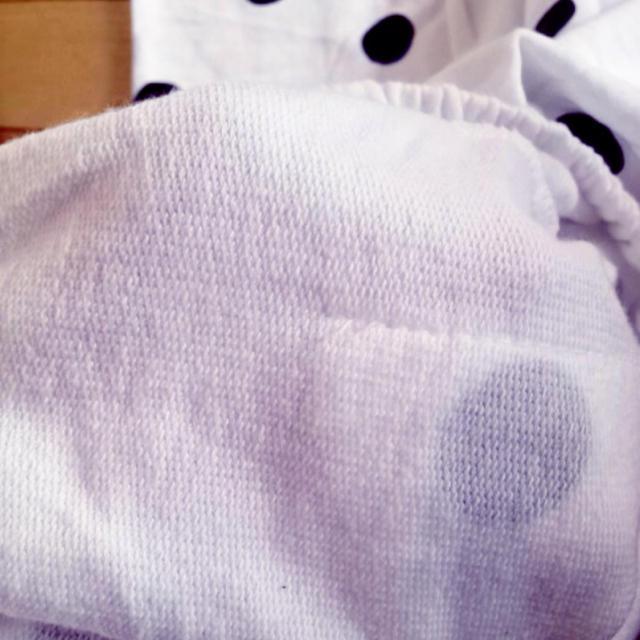 黒どっと♡ゆるパン レディースのパンツ(サルエルパンツ)の商品写真