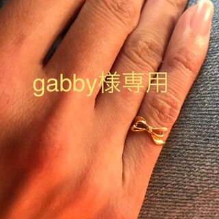 ☆k18☆リボンデザイン☆ピンキーリング(リング(指輪))