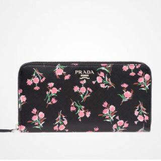 プラダ(PRADA)のぶらんのわーる様専用プラダ 新品 未使用 財布 限定 花柄 正規(財布)