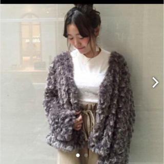 カスタネ(Kastane)の新品未使用 タグ付き カスタネボアジャケット(毛皮/ファーコート)