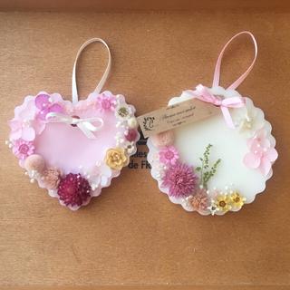 white &pink set*:ஐ ※アロマワックスサシェ (アロマ/キャンドル)