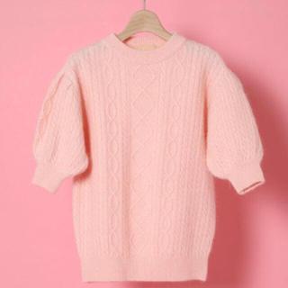 vannie TOKYO Fluffy angora knit(ニット/セーター)