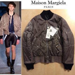 マルタンマルジェラ(Maison Martin Margiela)の新品■定価約27万■マルジェラ 16aw■ボンバージャケット■ma-1■2965(ブルゾン)