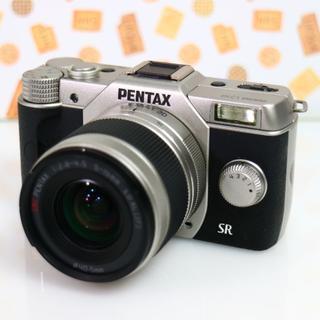 ペンタックス(PENTAX)の☆超コンパクト設計一眼レフ ペンタックス Q10 WifiSDでスマホにシェア☆(ミラーレス一眼)