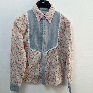 ヴィス(ViS)のプーラフリーム スナップボタンシャツ(マタニティトップス)