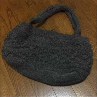ムジルシリョウヒン(MUJI (無印良品))の無印良品 ニット バッグ(ハンドバッグ)