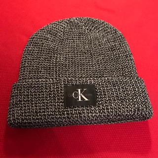 カルバンクライン(Calvin Klein)の新品未使用! カルバンクライン ニット帽(ニット帽/ビーニー)