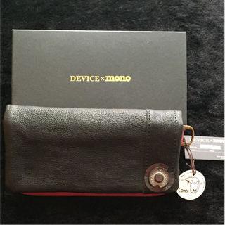 ディバイス(device.)の【プレゼントに☆】新品!DEVICE×mono長財布☆(長財布)