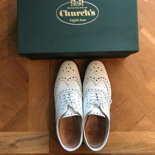 チャーチ(Church's)のChurchs チャーチ ホワイト 37(ローファー/革靴)