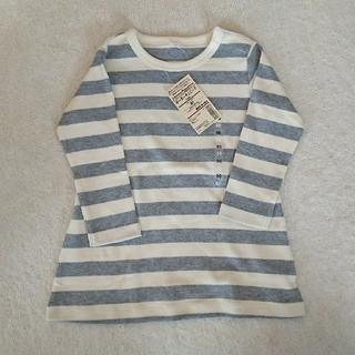 ムジルシリョウヒン(MUJI (無印良品))の無印良品 オーガニックコットン チュニック 90cm(Tシャツ/カットソー)