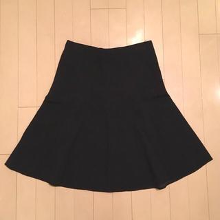 クロエ(Chloe)の新品未使用☆Chloe ブラックスカート(ひざ丈スカート)