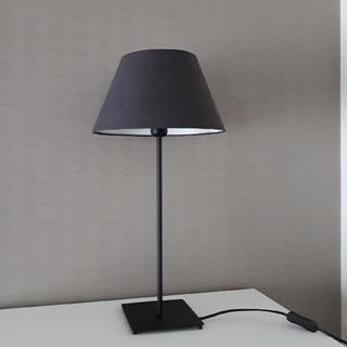 イケア(IKEA)のIKEAランプ グレー×ブラック(テーブルスタンド)