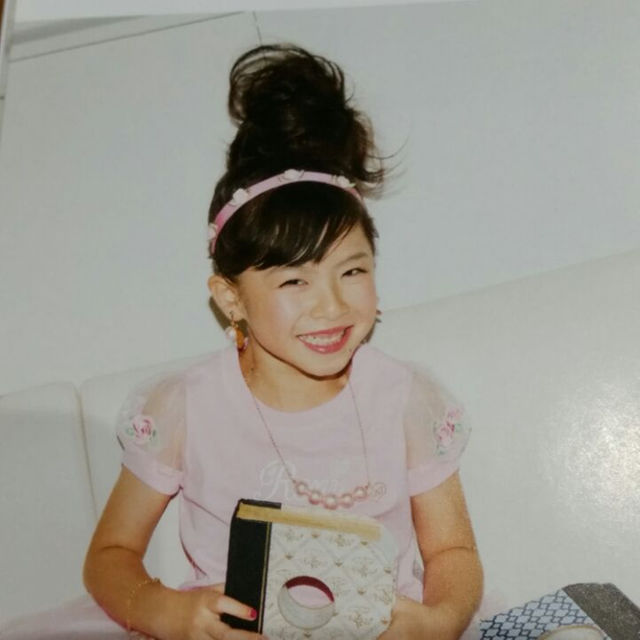 RONI(ロニィ)の小物⑭ RONI 薔薇カチューム キッズ/ベビー/マタニティのこども用ファッション小物(その他)の商品写真