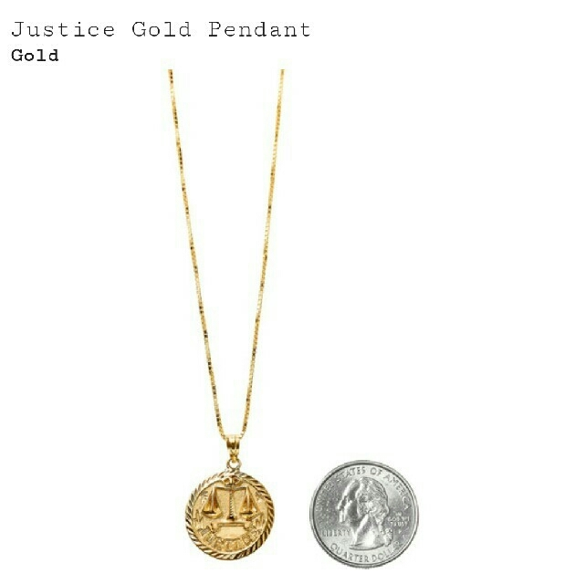 Supreme supreme justice gold pendant 14k by supreme justice gold pendant 14k mozeypictures Image collections