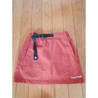 モンベル(mont bell)の古着 mont-bell スカート130サイズ(スカート)
