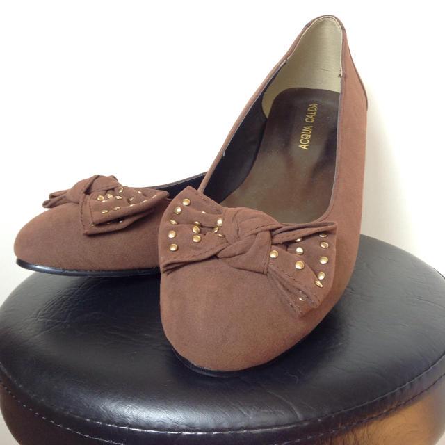 ニッセン(ニッセン)の26.5㎝ニッセンACQUA CALDA 新品未使用品パンプス レディースの靴/シューズ(ハイヒール/パンプス)の商品写真