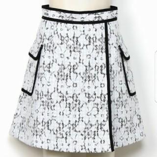 マーキュリーデュオ(MERCURYDUO)の美品♡マーキュリー♡レースボンディングスカート(ミニスカート)