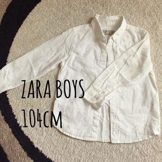 ザラ(ZARA)のZARA ボタンダウンシャツ104cm(その他)