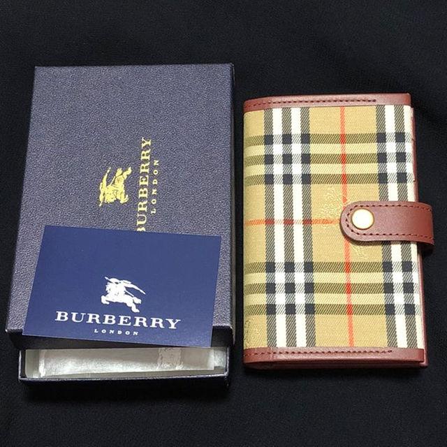 BURBERRY(バーバリー)のBurberry 手帳 * スケジュール。2018リフィルセット *新品未使用 レディースのファッション小物(その他)の商品写真