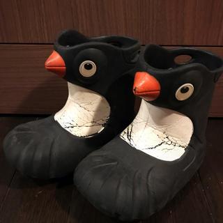 ポリウォークス ペンギン レインシューズ US7/8  約15.4cm(長靴/レインシューズ)