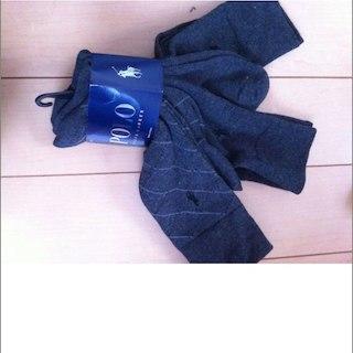 ポロラルフローレン(POLO RALPH LAUREN)の3足セット!ポロラルフローレン メンズ靴下 25〜28程度(その他)