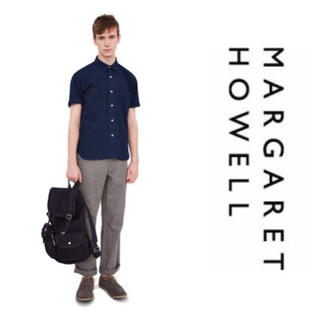 マーガレットハウエル(MARGARET HOWELL)の希少 英国製 マーガレットハウエル キャンバス リュック バックパック (バッグパック/リュック)