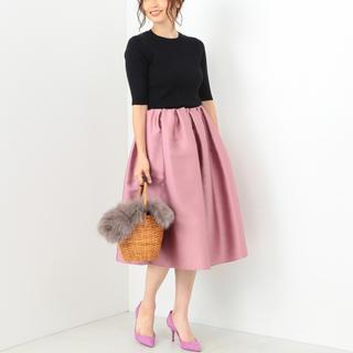 デミルクスビームス(Demi-Luxe BEAMS)のデミルクスビームス♡大人ピンクが素敵なスカート♡(ひざ丈スカート)
