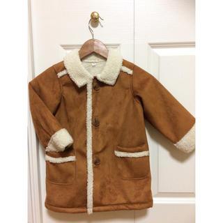ムジルシリョウヒン(MUJI (無印良品))のぴの様専用です。新品 無印良品 ムートン コート ジャケット(ジャケット/上着)