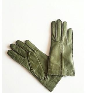 コーチ(COACH)のCOACH レザー上品グローブ手袋コーチ(手袋)