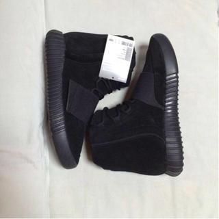 アディダス(adidas)の確実正規品 adidas yeezy boost 750 black(スニーカー)