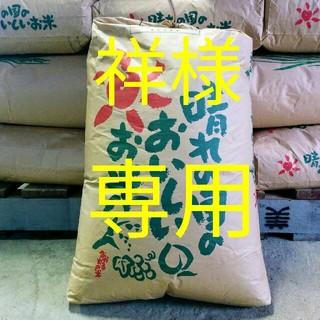コシヒカリ玄米(米/穀物)